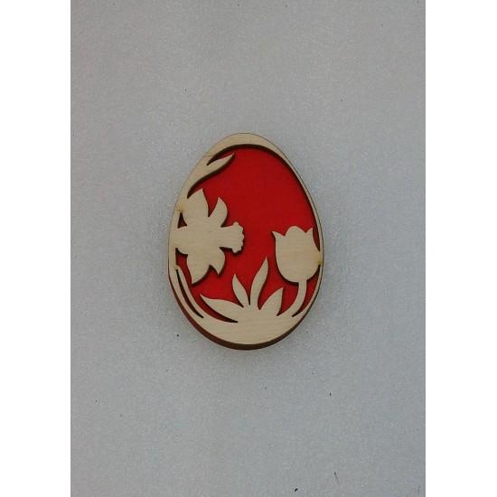 Пасхальные подставки и сувениры, Магнит Пасхальное яйцо (модель 1)