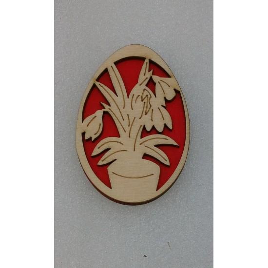 Пасхальные подставки и сувениры, Магнит Пасхальное яйцо (модель 7)