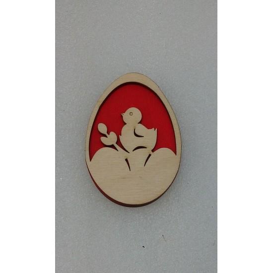 Пасхальные подставки и сувениры, Магнит Пасхальное яйцо (модель 8)