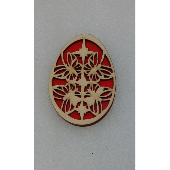 Пасхальные подставки и сувениры, Магнит Пасхальное яйцо (модель 9)