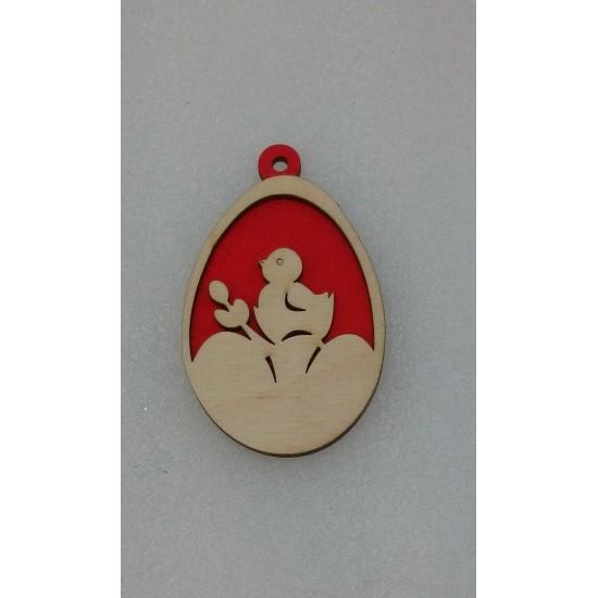 Пасхальные подставки и сувениры, Подвеска Пасхальное яйцо (модель 2)