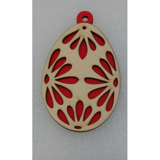 Пасхальные подставки и сувениры, Подвеска Пасхальное яйцо (модель 4)
