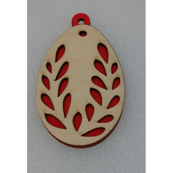 Пасхальные подставки и сувениры, Подвеска Пасхальное яйцо (модель 6)