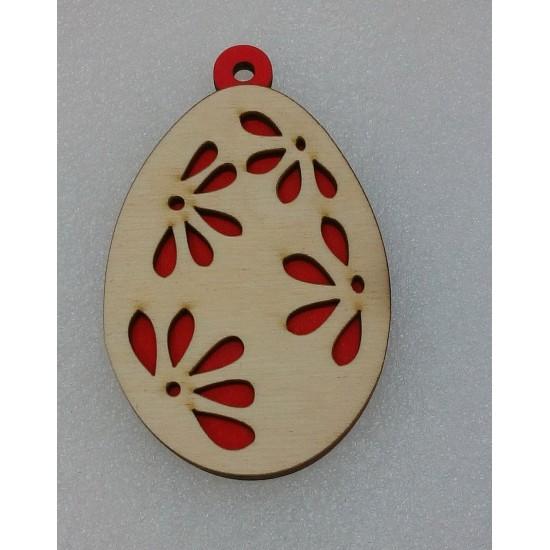 Пасхальные подставки и сувениры, Подвеска Пасхальное яйцо (модель 7)