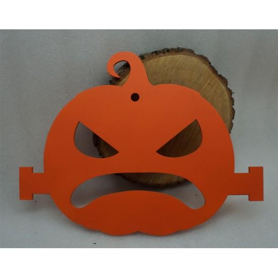 Тыква на Хэллоуин Франкенштейн