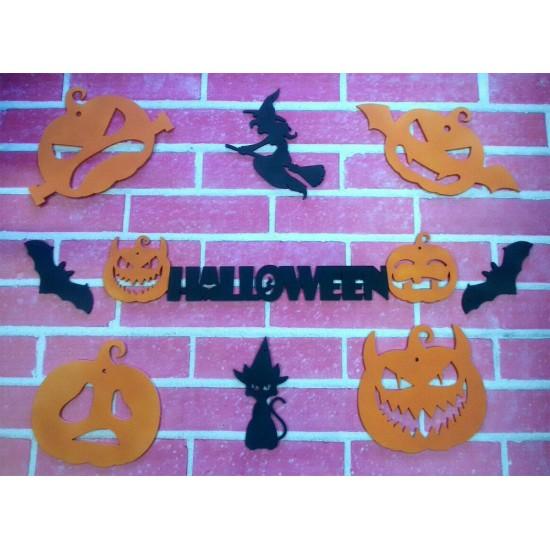 Набор для украшения на Хэллоуин Большой