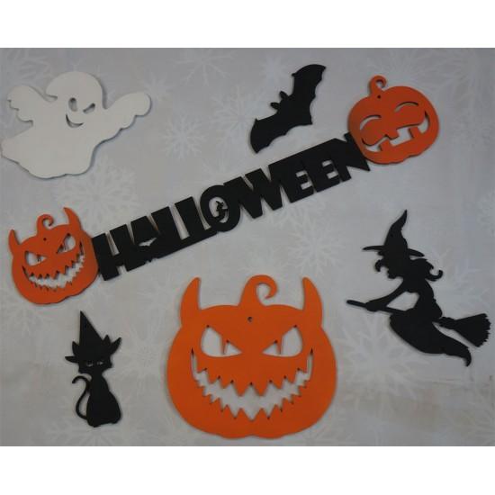 Набор для украшения на Хэллоуин малый