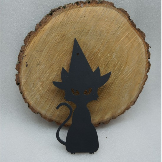 Черная Кошка на Хэллоуин