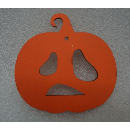 Тыква на Хэллоуин унылая