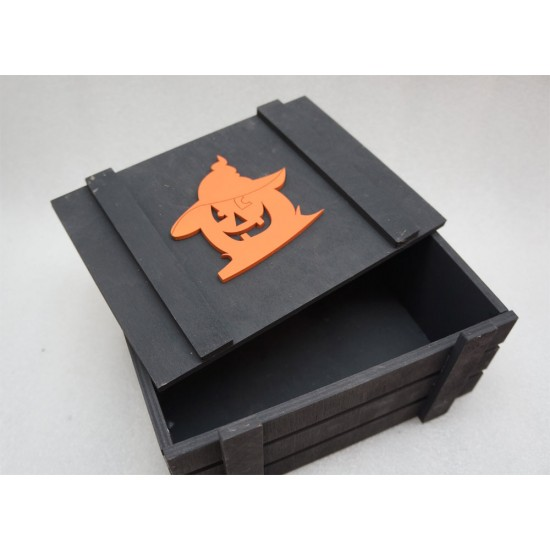 Ящик страха волшебная тыква черный