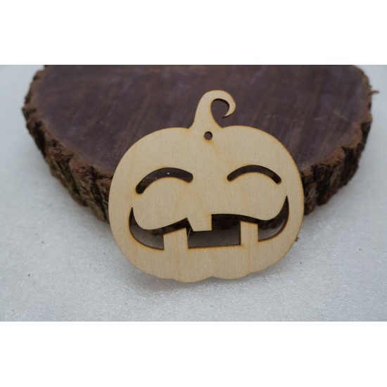 Заготовка Тыква улыбака простая на Хэллоуин