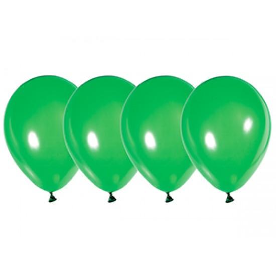 """Воздушные шары без рисунка, Воздушный шар латексный 12"""", стандарт (ПАСТЕЛЬ), Зелёный,  (4000 шт.), 2.90 р. за 1 шт."""
