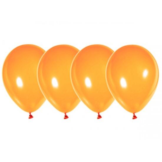 """Воздушные шары без рисунка, Воздушный шар латексный 12"""", стандарт (ПАСТЕЛЬ), Оранжевый,  (4000 шт.), 2.90 р. за 1 шт."""