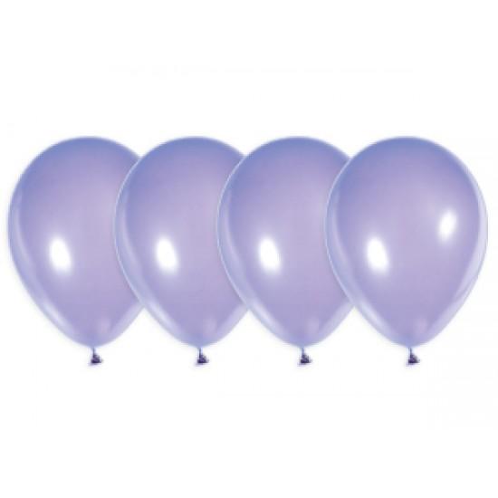 """Воздушные шары без рисунка, Воздушный шар латексный 12"""", стандарт люкс (ПАСТЕЛЬ), Лавандовый,  (4000 шт.), 2.90 р. за 1 шт."""