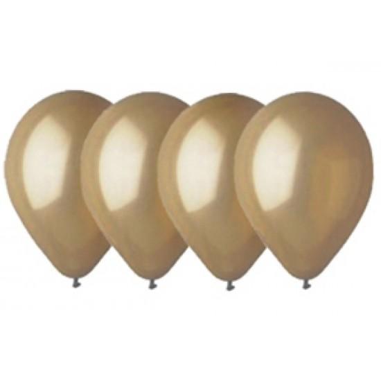 """Воздушные шары без рисунка, Воздушный шар латексный 12"""", стандарт люкс (ПАСТЕЛЬ), 50 шт/упак. Мокко,  (50 шт.), 2.90 р. за 1 шт."""