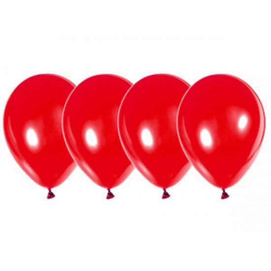 """Воздушные шары без рисунка, Воздушный шар латексный 12"""", кристалл, 50 шт/упак. Красное яблоко,  (50 шт.), 2.90 р. за 1 шт."""