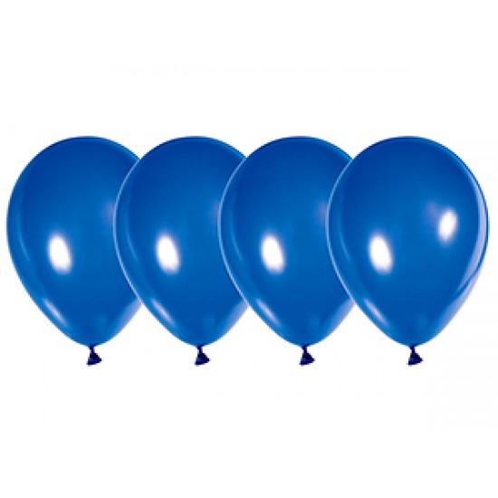"""Воздушные шары без рисунка, Воздушный шар латексный 12"""", стандарт люкс (ПАСТЕЛЬ), 50 шт/упак. Ультрамарин,  (50 шт.), 2.90 р. за 1 шт."""