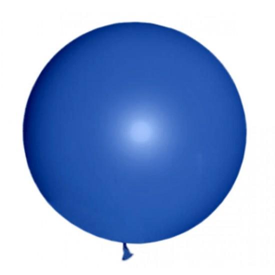 Шары гиганты, М350056(AVP-350-001)  Воздушный шар латексный, стандарт люкс (ПАСТЕЛЬ), Ультрамарин,  (1 шт.), 160 р. за 1 шт.