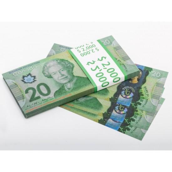 Шуточные деньги, Билеты банка приколов 20 канадских долларов