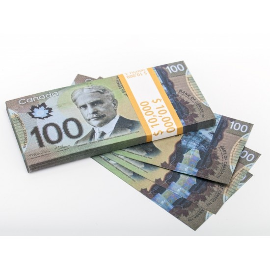 Шуточные деньги, Билеты банка приколов 100 Канадских долларов