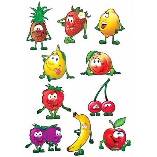 """Наборы для украшения на праздник, Набор """"Веселые ягоды и фрукты"""",  (1 шт.), 46 р. за 1 шт."""