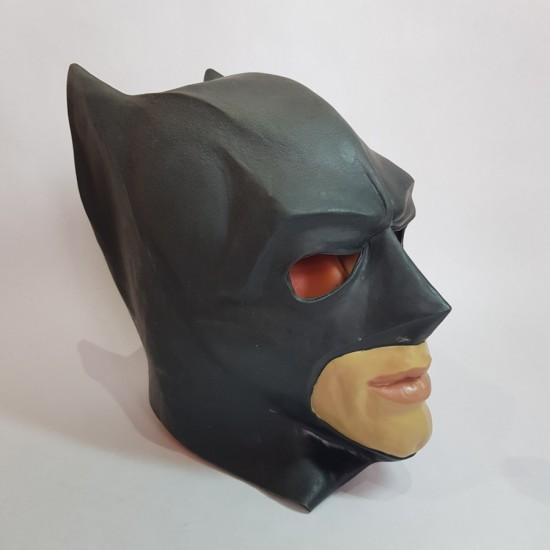 Маски латексные, Маска латексная Бэтмен,