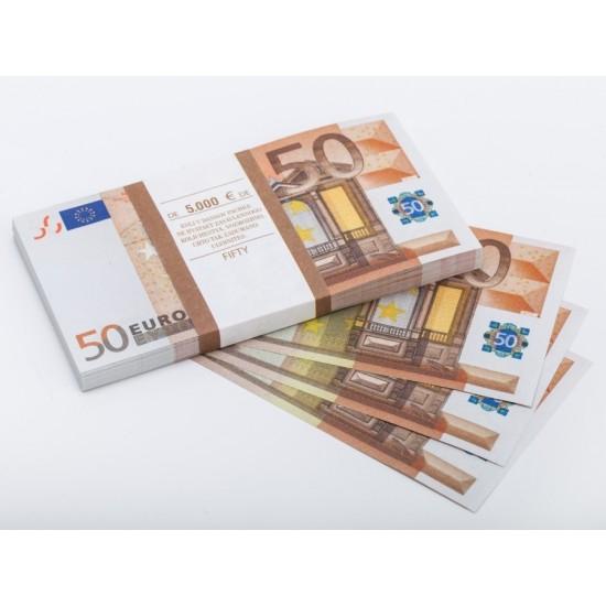 Шуточные деньги, Билеты банка приколов 50 евро