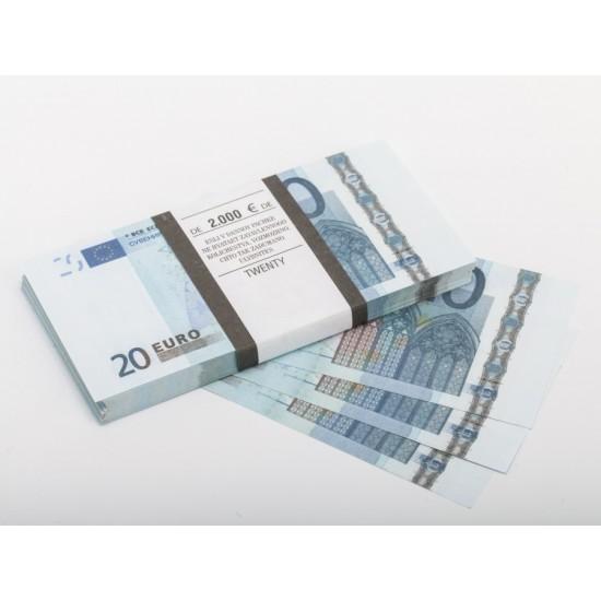 Шуточные деньги, Билеты банка приколов 20 евро