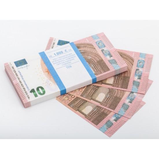 Шуточные деньги, Билеты банка приколов 10 евро