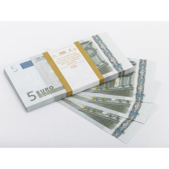 Шуточные деньги, Билеты банка приколов 5 евро