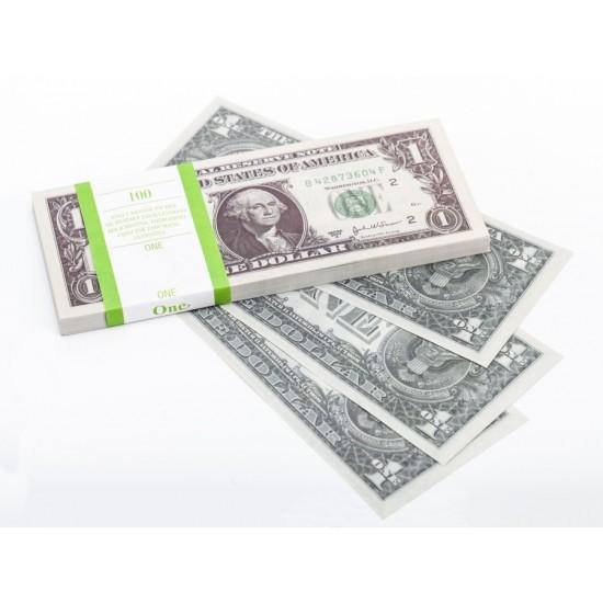 Шуточные деньги, Билеты банка приколов 1 доллар