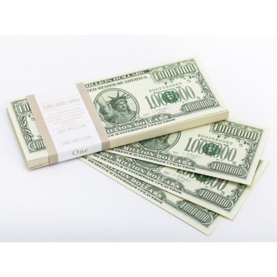 Шуточные деньги, Билеты банка приколов 1 000 000 долларов
