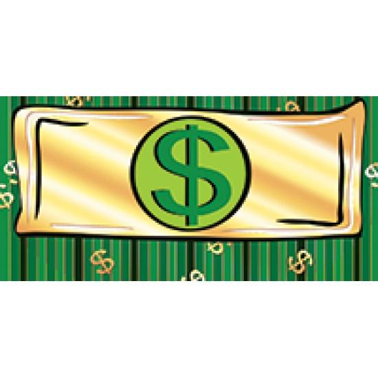 Шуточные конверты для денег, Без текста,  (10 шт.), 11.70 р. за 1 шт.